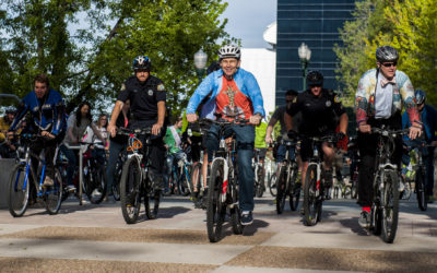Curtis Joins Congressional Bike Caucus, Tours Bicycling Infrastructure in District